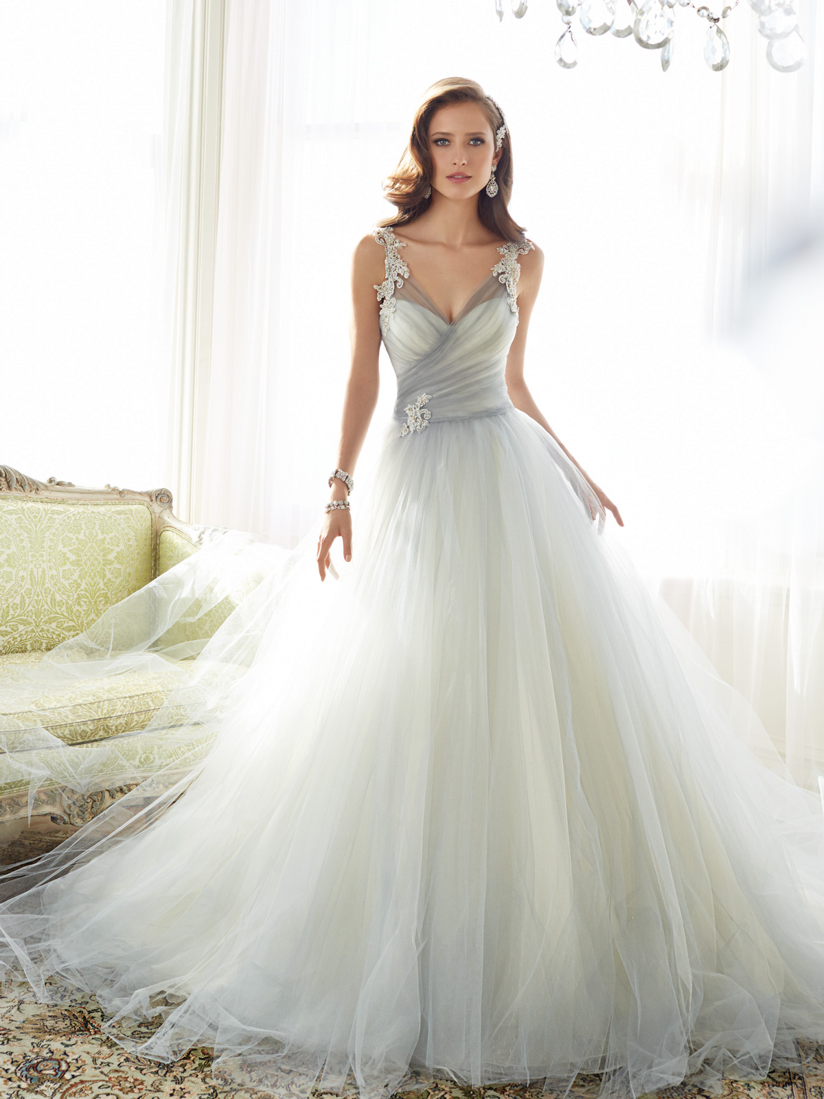 A Line Ed Ball Gown