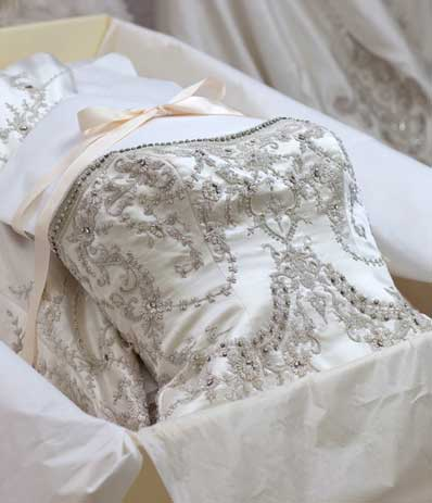 Ann matthews bridal wedding services albuquerque for Wedding dress preservation company